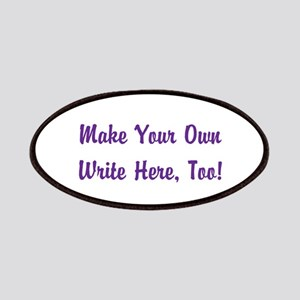 Make Your Own Cursive Saying/Meme Create fon Patch