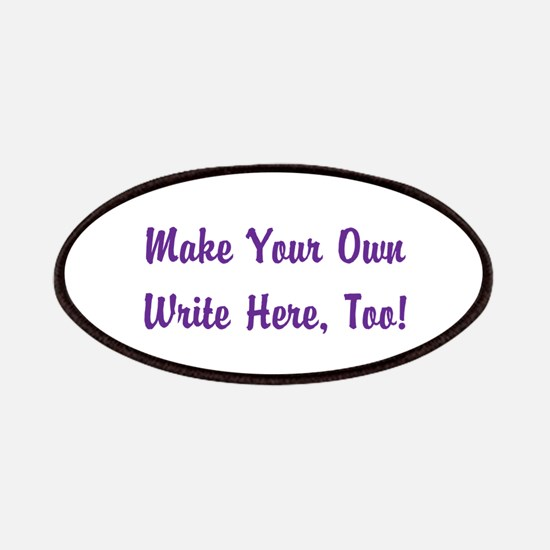 Make Your Own Cursive Saying/Meme Create fon Patch