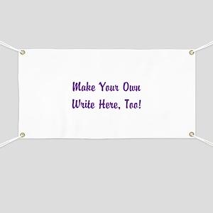 Make Your Own Cursive Saying/Meme Create fo Banner