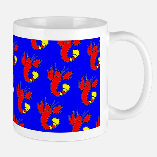 Blue Red Lobster Cuties Bud's Fave Mugs