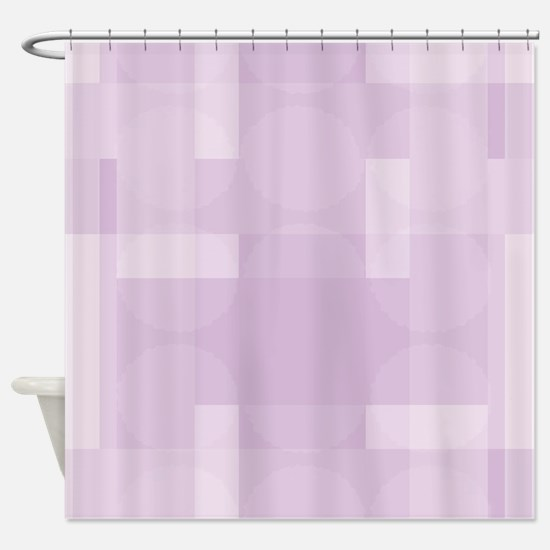 Layered Abstract - Lavender Herb Shower Curtain