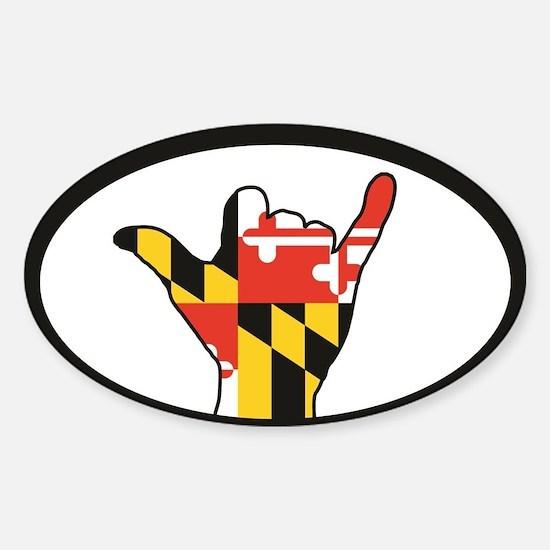 Hang Loose Maryland Decal