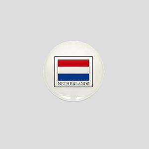 Netherlands Mini Button