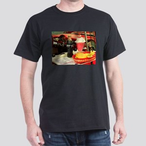 vintage rockabilly burger fries cola sunda T-Shirt
