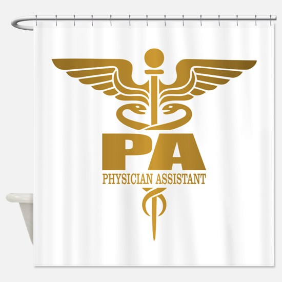 PA Gold Shower Curtain
