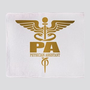 PA Gold Throw Blanket