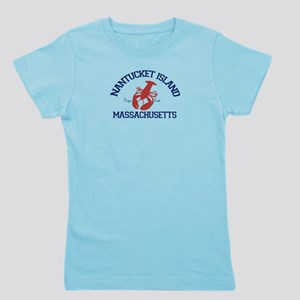 Nantucket - Massachusetts. Girl's Tee