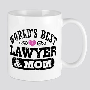 World's Best Lawyer and Mom Mug