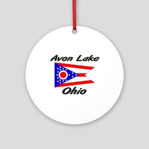 Avon Lake Ohio Ornament (Round)