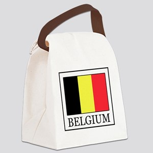 Belgium Canvas Lunch Bag