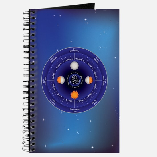 Zodiac Wheel of the Year Journal