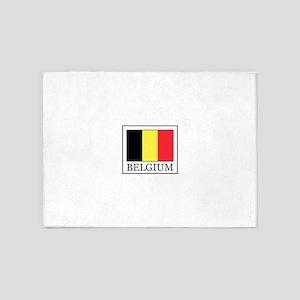 Belgium 5'x7'Area Rug