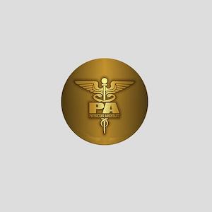 PA Gold Mini Button