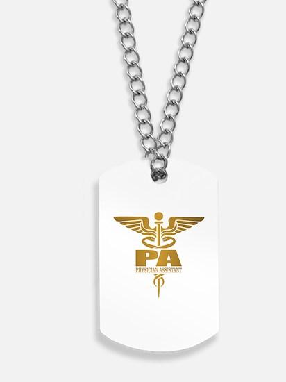 PA Gold Dog Tags