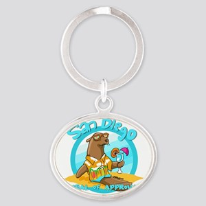 San Diego Seal of Approval Keychains