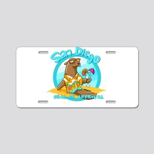 San Diego Seal of Approval Aluminum License Plate