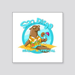 San Diego Seal of Approval Sticker