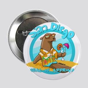"""San Diego Seal of Approval 2.25"""" Button (10 pack)"""