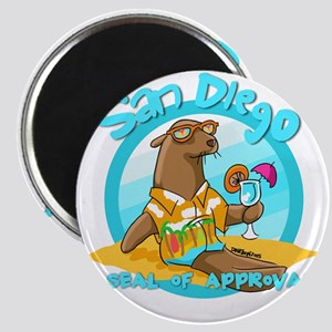 San Diego Seal of Approval Magnets