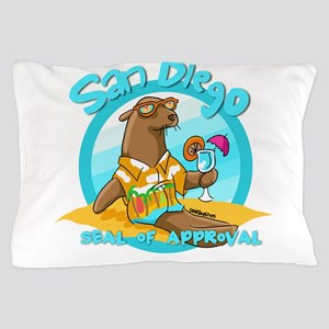 San Diego Seal of Approval Pillow Case