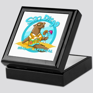 San Diego Seal of Approval Keepsake Box