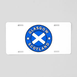 Scotland Aluminum License Plate