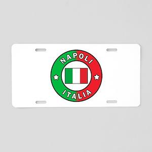 Napoli Italia Aluminum License Plate