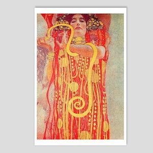 Gustav Klimt Medicine Postcards (package Of 8)