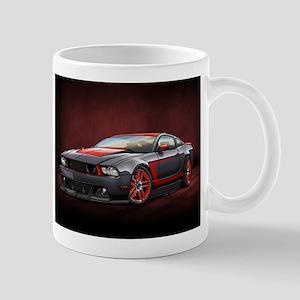 Boss 302 Laguna Seca Black Mugs