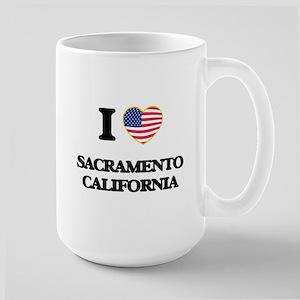 I love Sacramento California USA Design Mugs