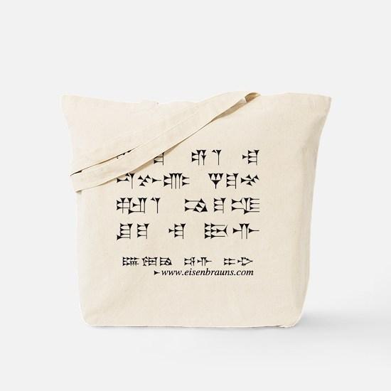 Cute Cuneiform Tote Bag