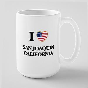 I love San Joaquin California USA Design Mugs