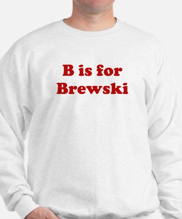 B is for Brewski Jumper