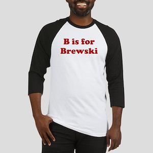 B is for Brewski Baseball Jersey