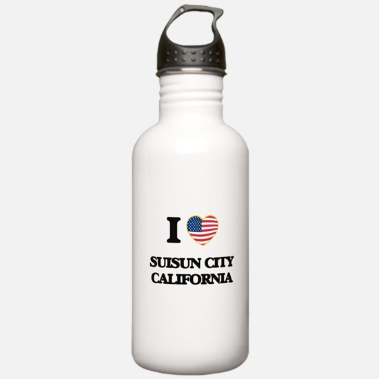I love Suisun City Cal Water Bottle