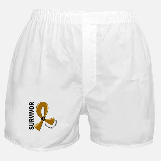 Appendix Cancer Survivor 12 Boxer Shorts