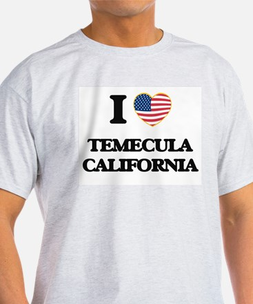 I love Temecula California USA Design T-Shirt