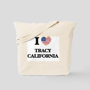 I love Tracy California USA Design Tote Bag