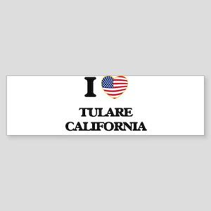 I love Tulare California USA Design Bumper Sticker