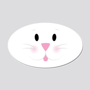 Bunny Face Wall Decal