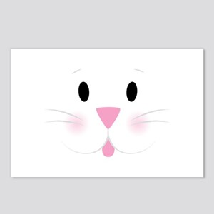 Bunny Face Postcards (Package of 8)