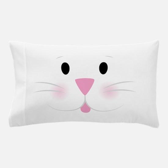 Bunny Face Pillow Case