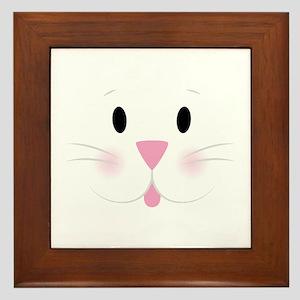 Bunny Face Framed Tile