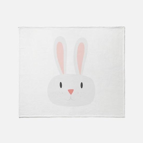 Bunny Rabbit Throw Blanket