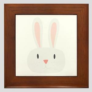 Bunny Rabbit Framed Tile