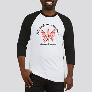 Aplastic Anemia Butterfly 6.1 Baseball Jersey