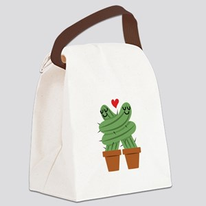 Cactus Love Canvas Lunch Bag