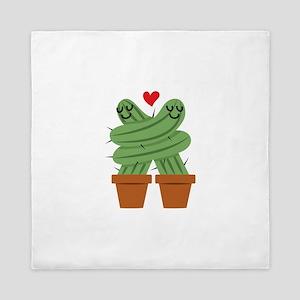 Cactus Love Queen Duvet