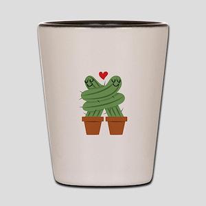 Cactus Love Shot Glass