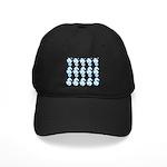 Light Blue Seahorses Baseball Hat
